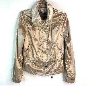 Guess lightweight gold hooded jacket